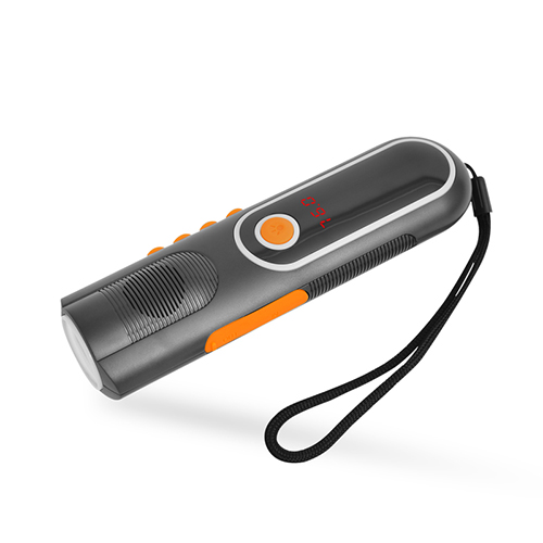 704B Multfi-Function Flashlight Power Bank with FM/AM Radio