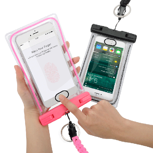 Waterproof Phone Bag with Fingerprint Lock